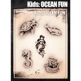 Tattoo Pro Ocean Fun Kids Series Stencils