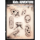 Tattoo Pro Adventure Kids Series Stencils