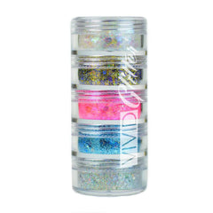 VIVID Glitter Purity 5 Piece Glitter Stack