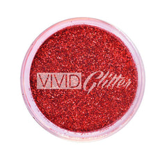VIVID Glitter Red Hot Loose Glitter Stackable (10 gm)