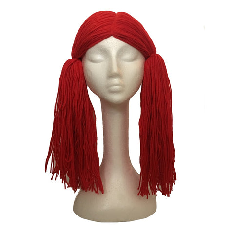 Deluxe Raggedy Ann Halloween Costume Wig