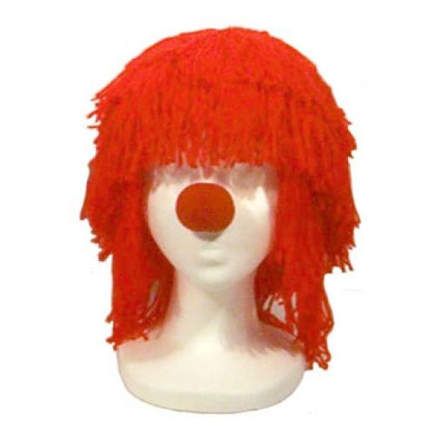 Small Raggedy Andy Halloween Costume Wig - Red