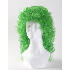 Wet Look Curly Halloween Costume Wig (West Bay)