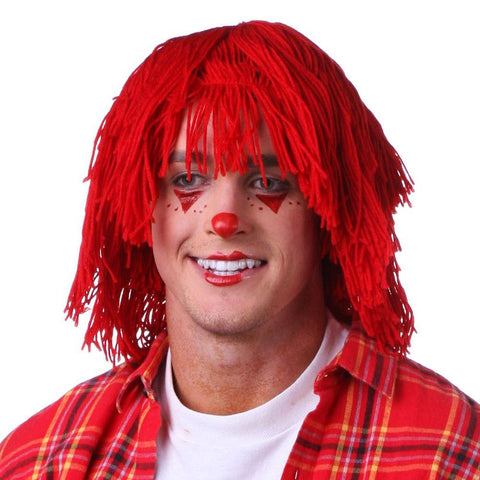 Sepia Raggedy Andy Halloween Costume Wig - Red (West Bay)