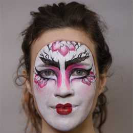 Graftobian ProPaint Geisha Halloween Makeup Kit