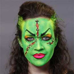 Diamond FX Blacklight Female Frankenstein Makeup Kit