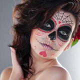 Hearts and Web Sugar Skull Makeup Kit