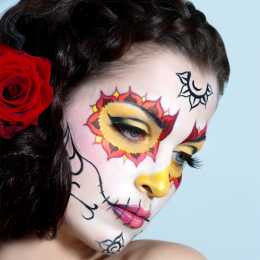 Light Sugar Skull Makeup Kit