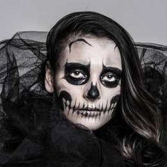 Skeleton Bride Makeup Kit