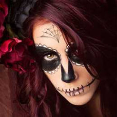 Velvet Sugar Skull Makeup Kit