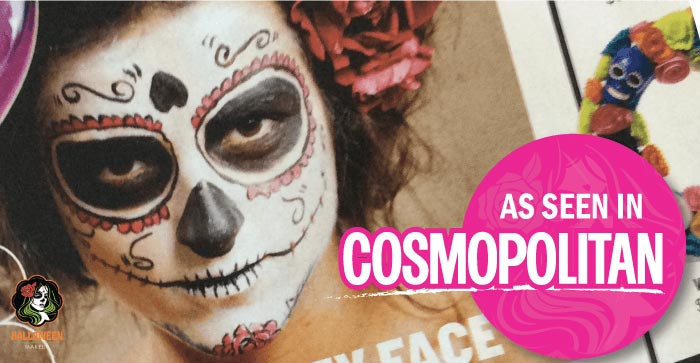 HalloweenMakeup is in Cosmo