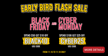 Early Bird Flash Sale!
