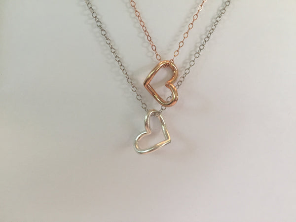 Love Infinitely - Infinity Heart Necklace