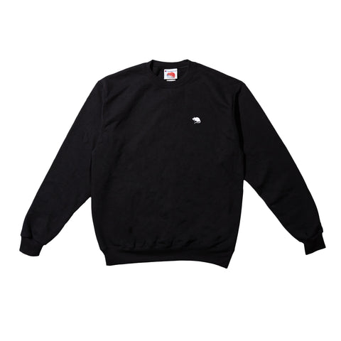 Embroidered Rat Logo Crewneck