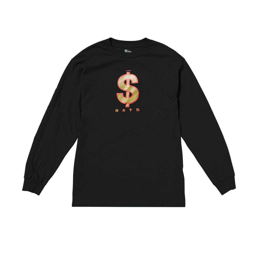 Money Sign Long Sleeve Tee