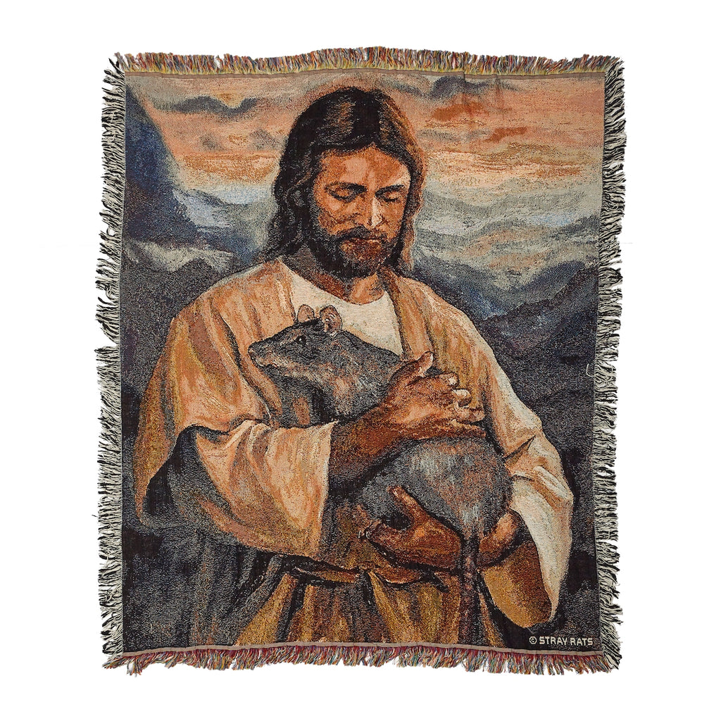 Rat Of God Tapestry