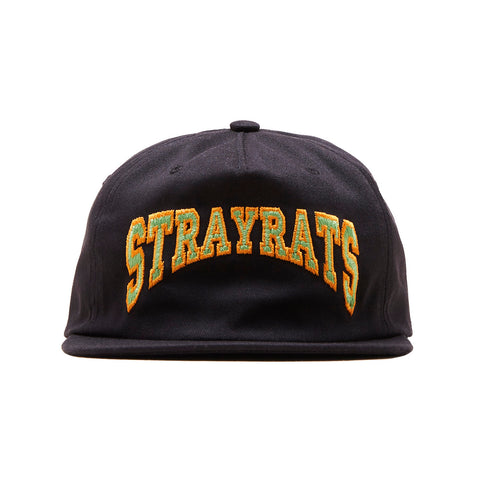 Two-Tone College Arch Hat