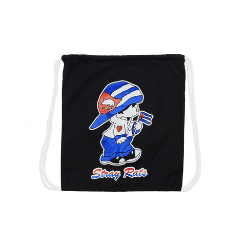 Flag Boy Drawstring Bag