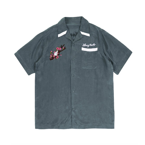 SR/MHI Camp Collar Shirt