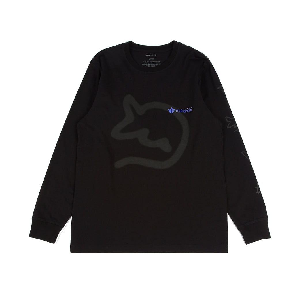SR/MHI SRMY Spray Long Sleeve Tee