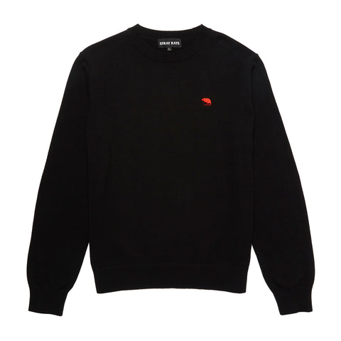 Rat Logo Knit Sweater