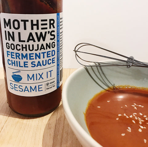 Vietnamese Summer Roll Dipping Sauce with Sesame Gochujang
