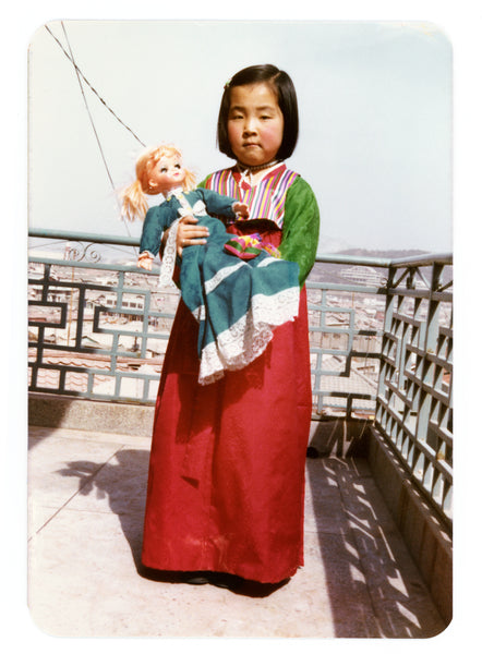Lauryn Chun Childhood Photo