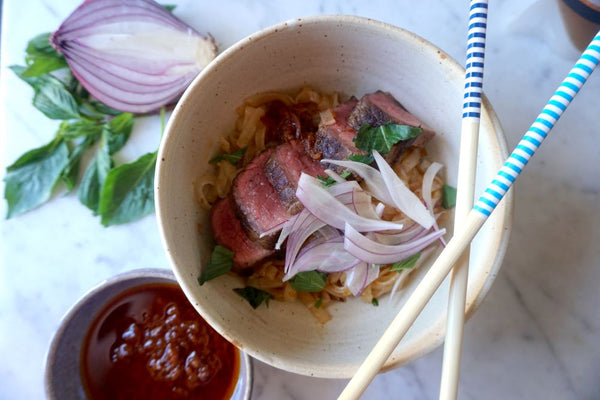 Lemongrass Chili Summer Pho Salad