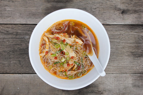 Thai Curry & Lime chicken noodle soup