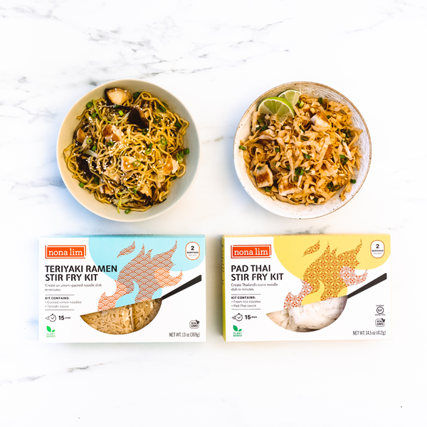 Pad Thai & Teriyaki Ramen Variety Kit (6 Pack)