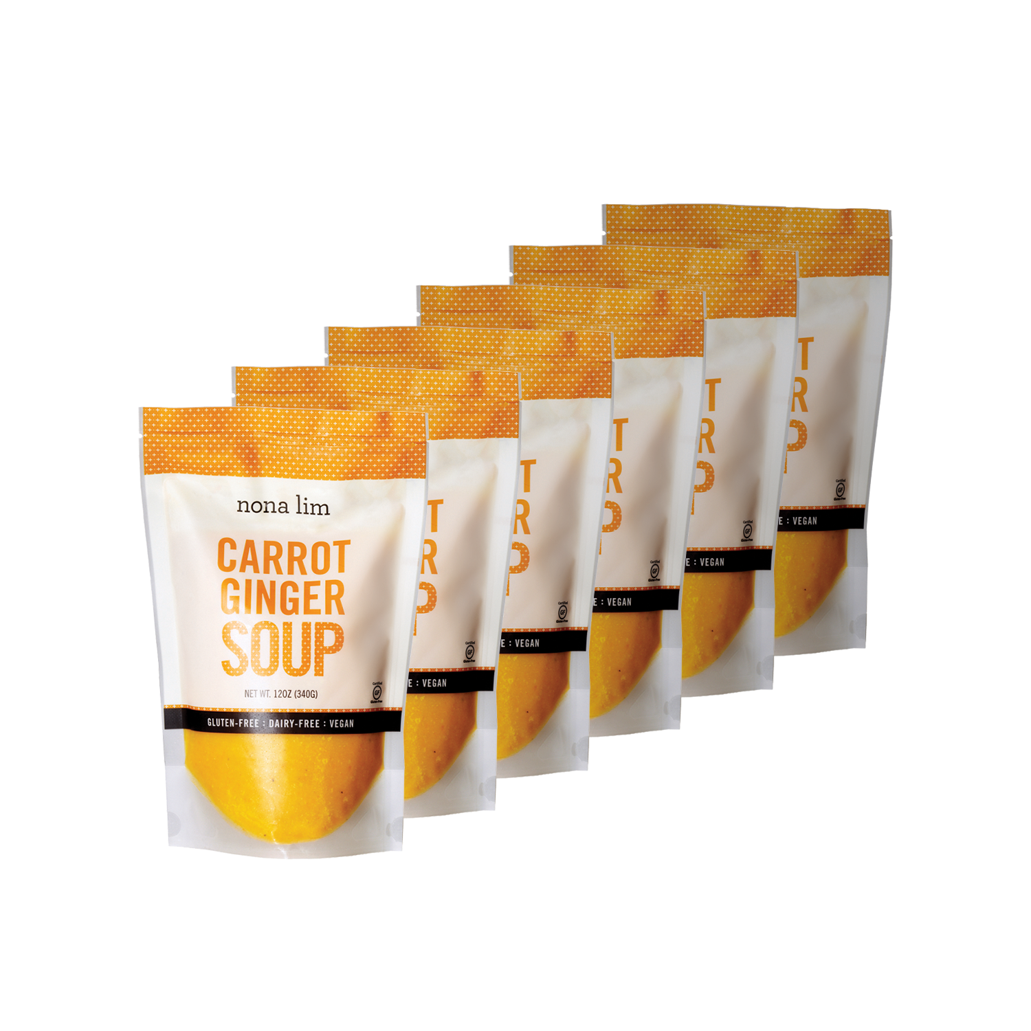 Nona Lim Carrot Ginger Soup 6 Pouches