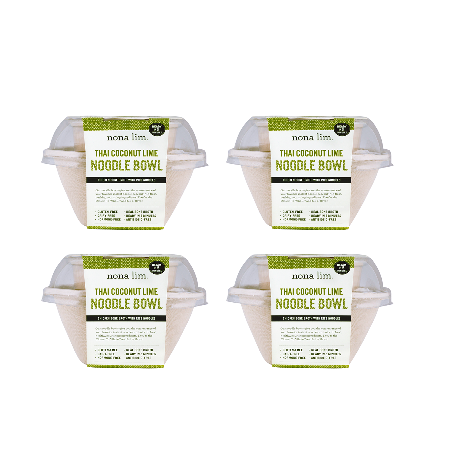 Thai Coconut Lime Noodle Bowl (4 Pack)