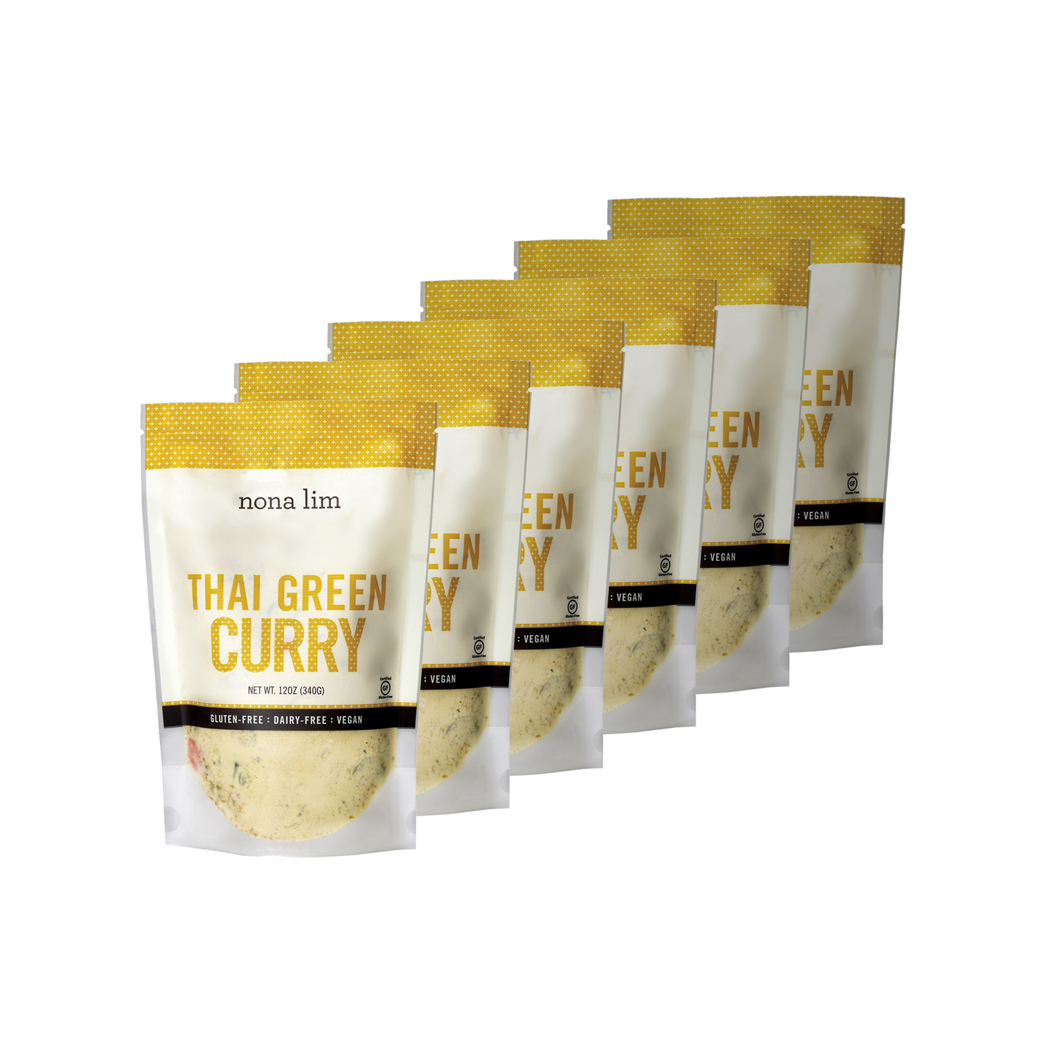 Nona Lim Thai Green Curry Soup 6 Pouches