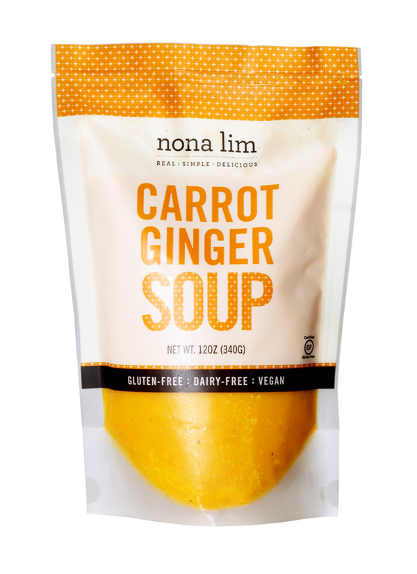 Carrot Ginger Soup 12 oz Pouch (6 Pack)