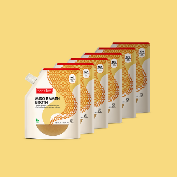 Nona Lim Miso Ramen Broth Pouch 6 Pack