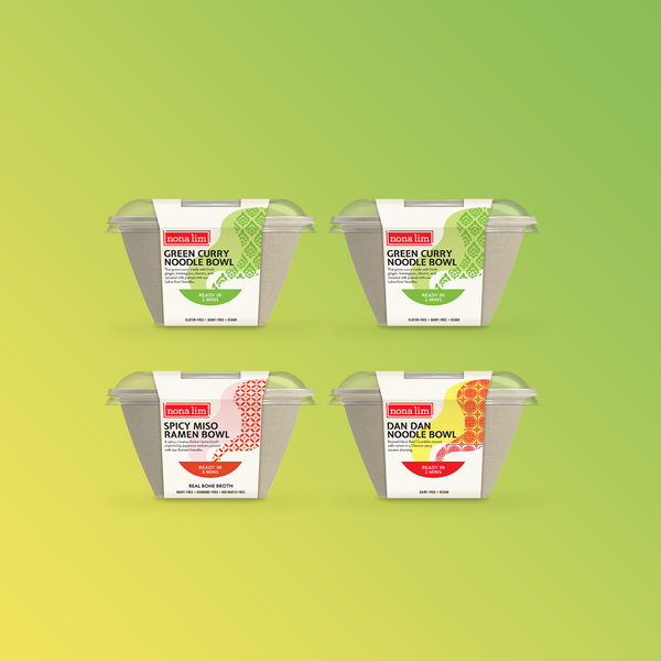 Fresh Noodle Bowl Sampler (4 Pack)