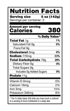 Nona Lim Traditional Ramen Noodles Nutrition Facts