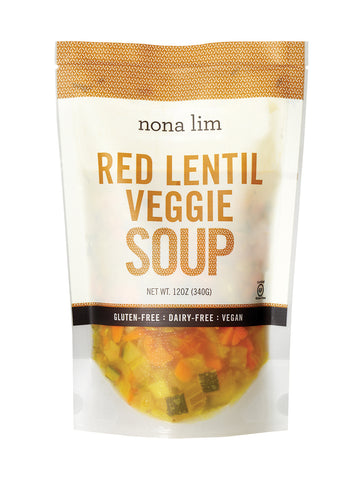 Red Lentil Veggie Soup (6 Pack)