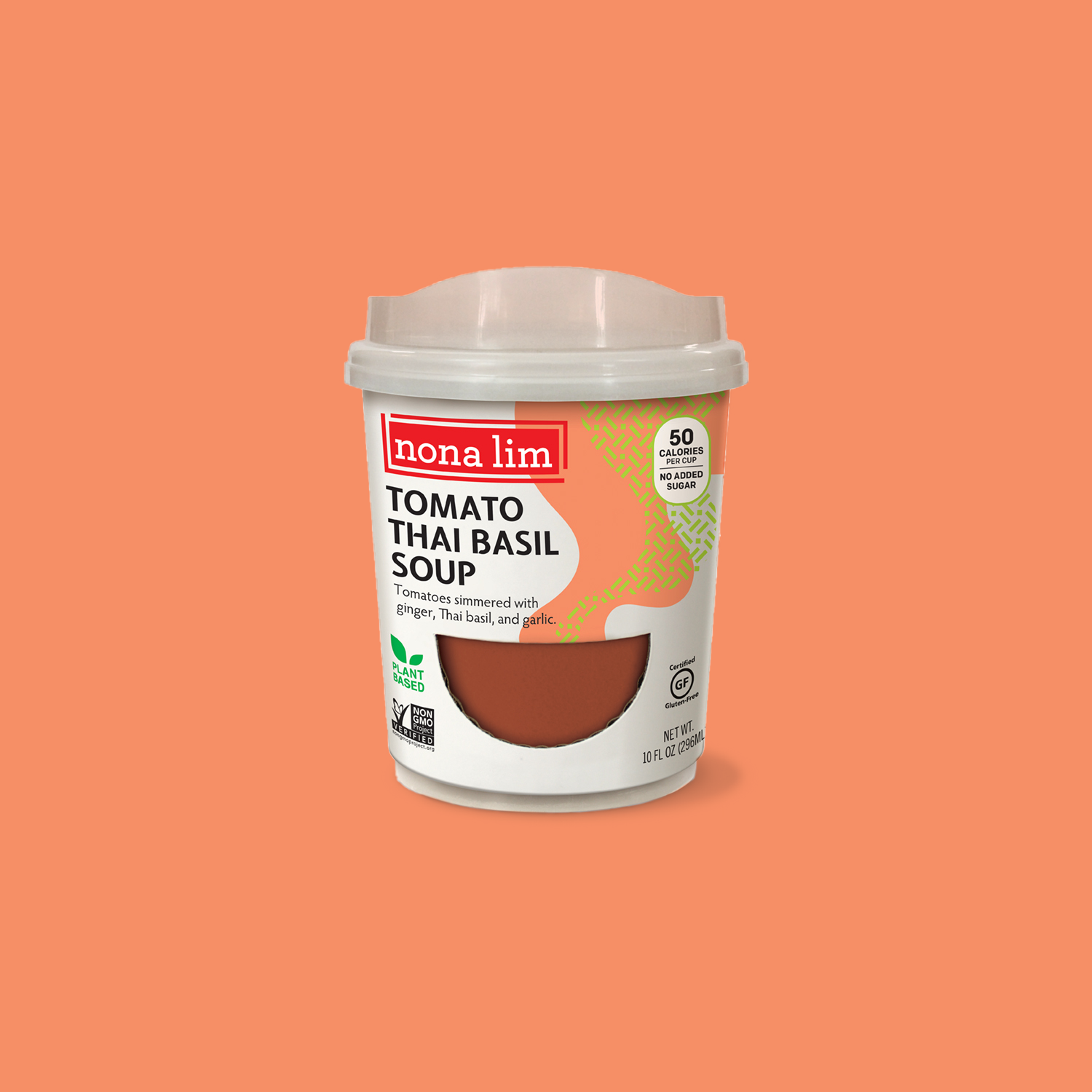 Tomato Thai Basil Soup Heat & Sip Cup (6 Pack)