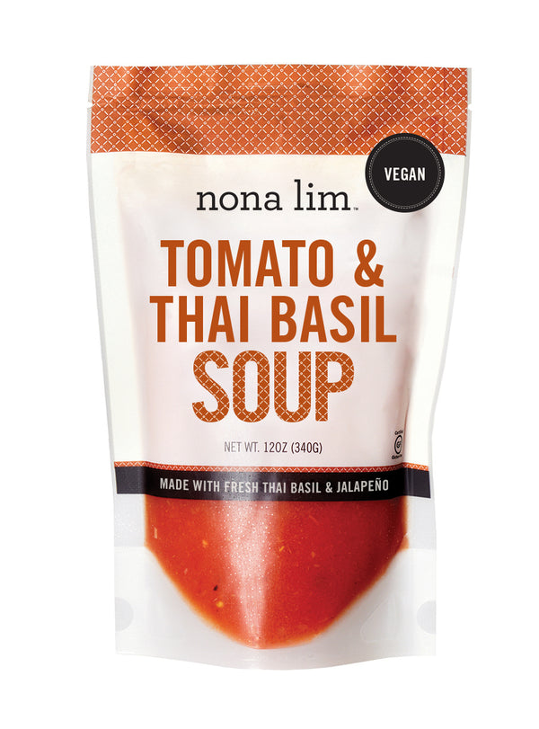 Tomato Thai Basil Soup 12 oz Pouch (6 Pack)