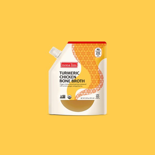 Nona Lim Turmeric Chicken Bone Broth Pouch