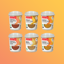 Vegan Heat & Sip Cup Sampler