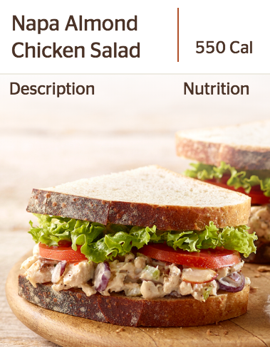 Panera's Napa Almond Chicken Salad