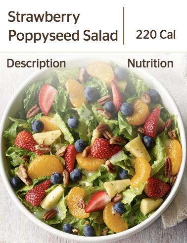 Panera's Strawberry & Poppyseed Salad