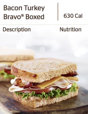 Panera's Bacon Turkey Bravo Sandwich