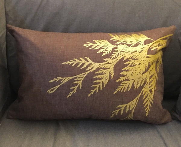 Hemp Pillow 12 x 18""