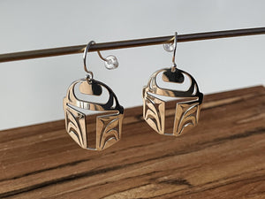 Protector - Earrings Sterling Silver
