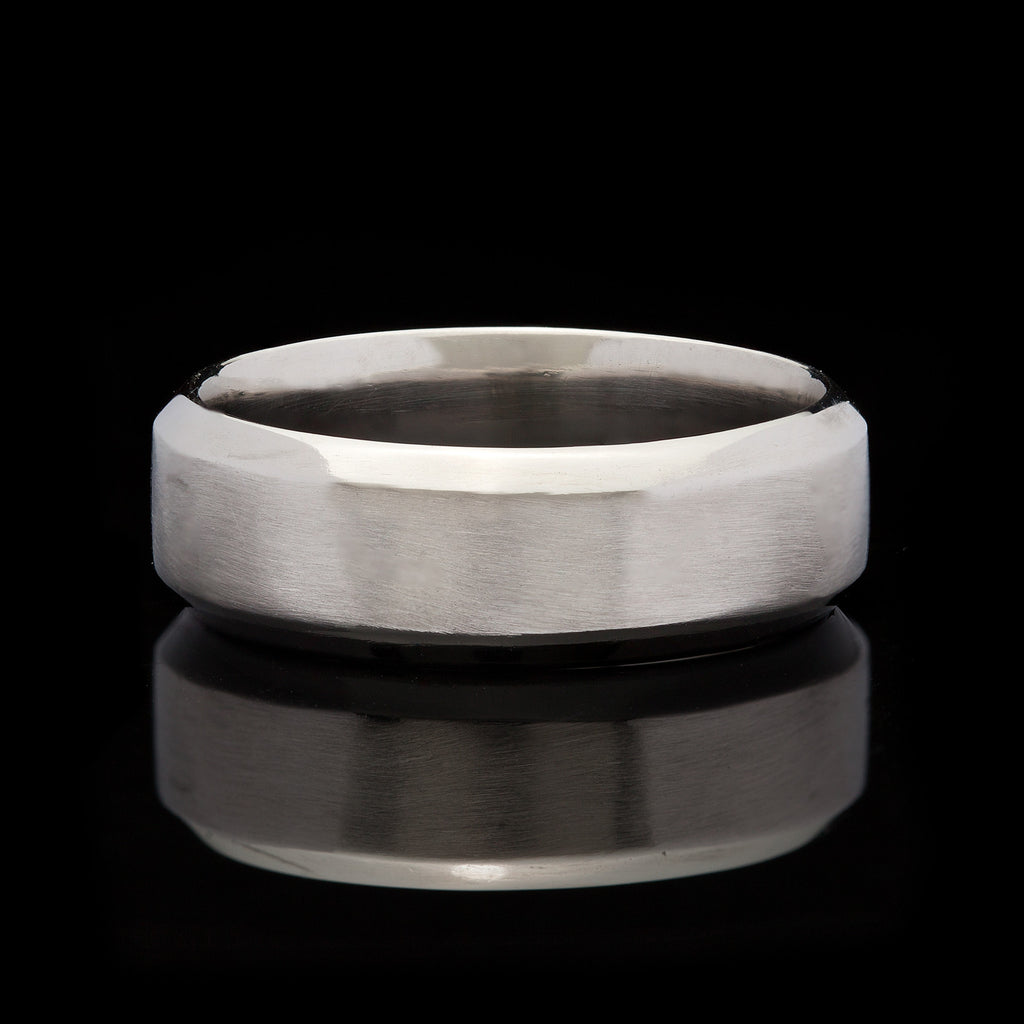 elegant wedding band fresh g luxury contemporary lovely brushed platinum simon bands s men