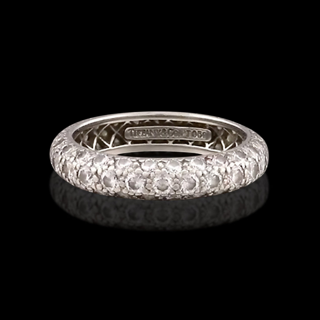 bands jewelers fit cushion engagement eternity product category in band platinum comfort jewelry