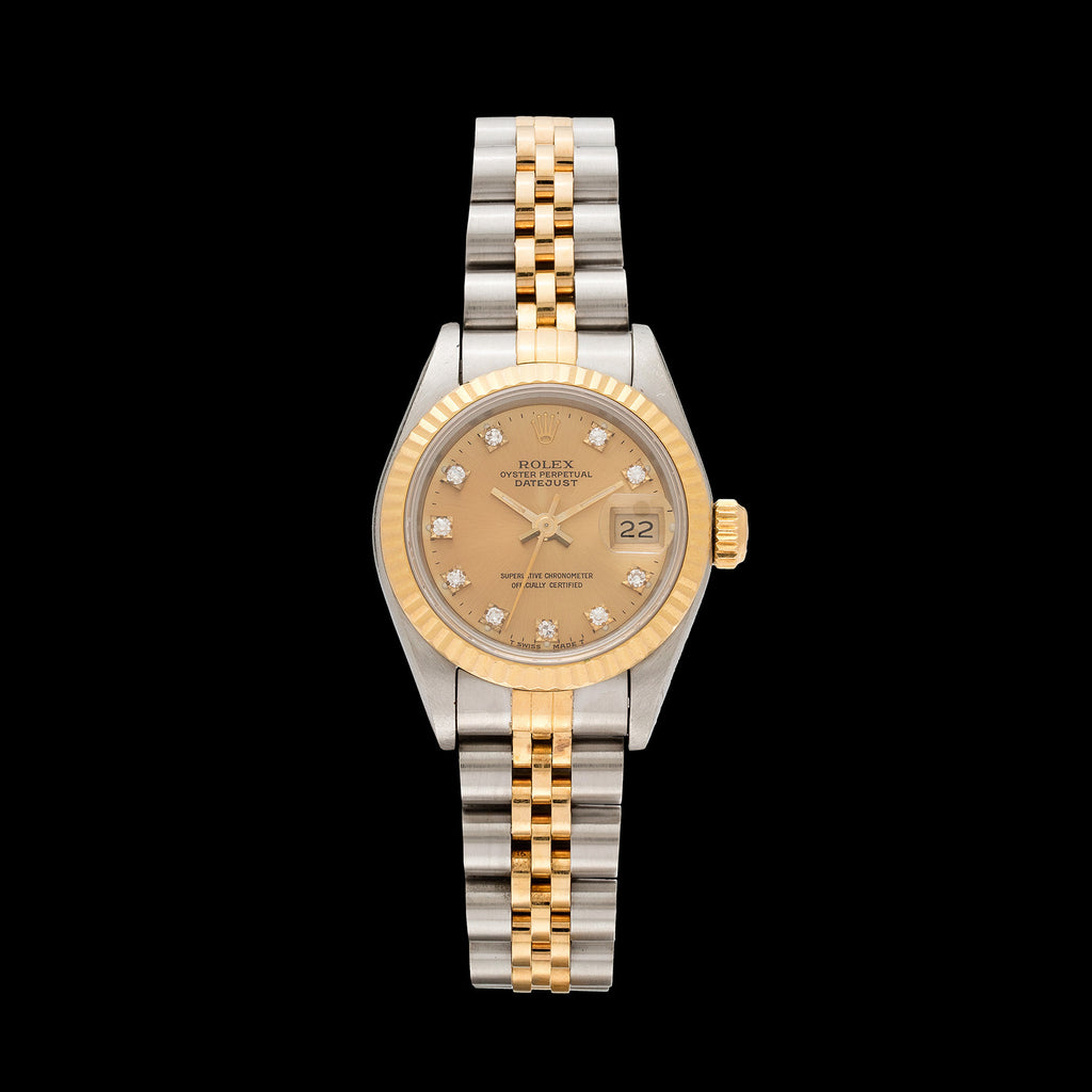 Rolex Two-Tone Datejust Lady s Watch- Women s Rolex Watch - 66mint Fine  Estate Jewelry aa256f88c
